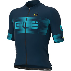 Alé Cycling Graphics PRR Scalata Jersey Korte Mouwen Heren, blue/light blue